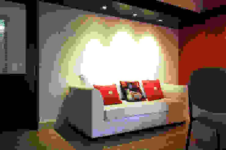 Office interiors @ Perungudi.. by Ashpra Interiors Scandinavian Plywood