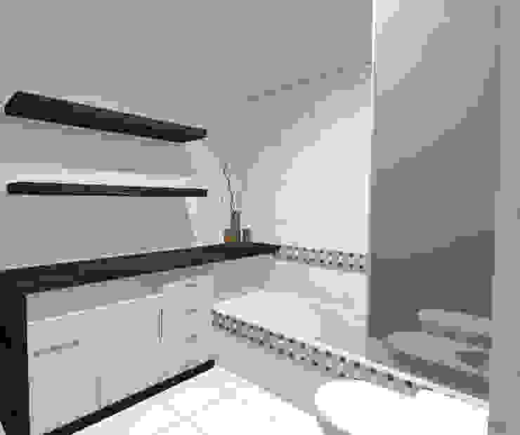 Minimalistische Badezimmer von laura zilinski arquitecta Minimalistisch