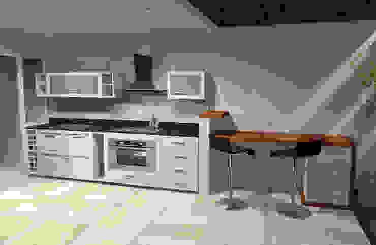 Minimalistische Küchen von laura zilinski arquitecta Minimalistisch