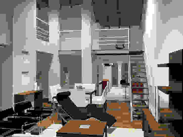 Moderne Wohnzimmer von laura zilinski arquitecta Modern