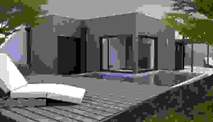 exterior Piletas modernas: Ideas, imágenes y decoración de laura zilinski arquitecta Moderno