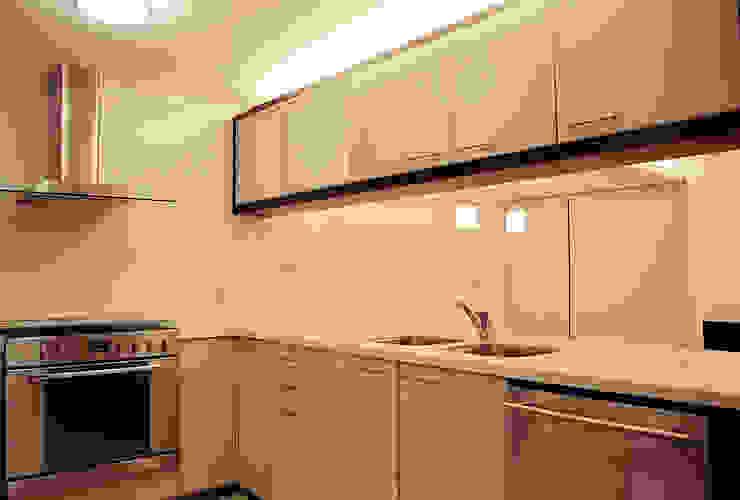 AH - RIMA Arquitectura Cocinas modernas de RIMA Arquitectura Moderno Aglomerado