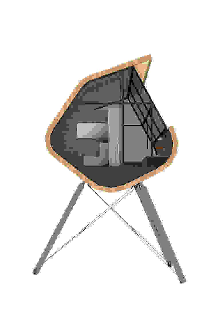 Casa del Árbol - RIMA Arquitectura Pasillos, vestíbulos y escaleras modernos de RIMA Arquitectura Moderno
