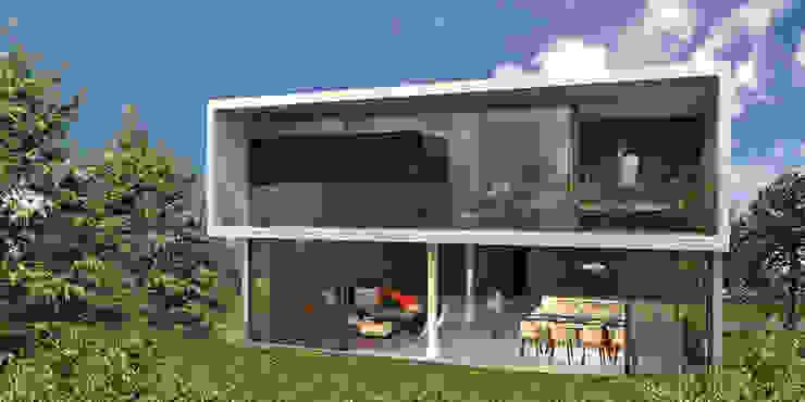 Casa Bosque Real - RIMA Arquitectura Casas modernas de RIMA Arquitectura Moderno