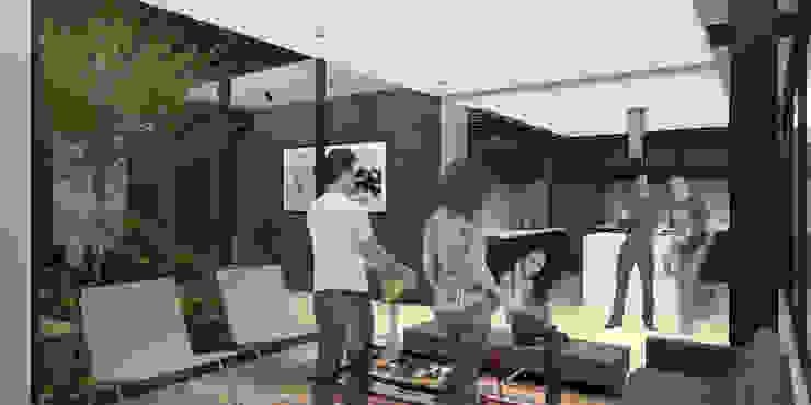 Casa Paraiso - RIMA Arquitectura Salones modernos de RIMA Arquitectura Moderno