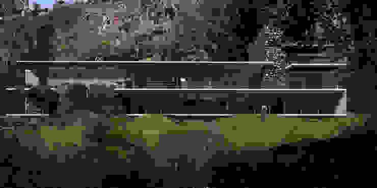 Casa Valle la Peña - RIMA Arquitectura Casas modernas de RIMA Arquitectura Moderno