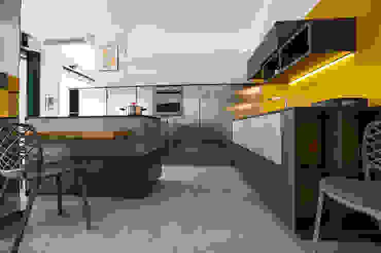 Vibo Cucine sas di Olivero Bruno e c. Кухня Сірий
