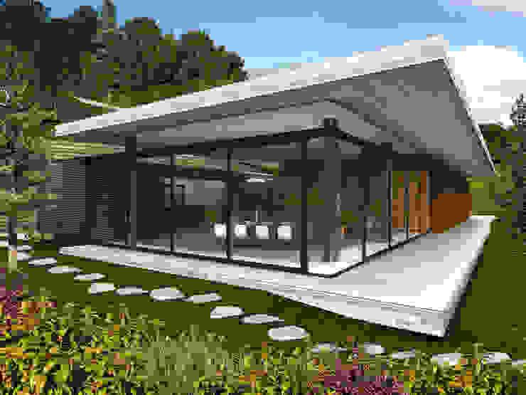 Casa Estadía - RIMA Arquitectura Casas modernas de RIMA Arquitectura Moderno