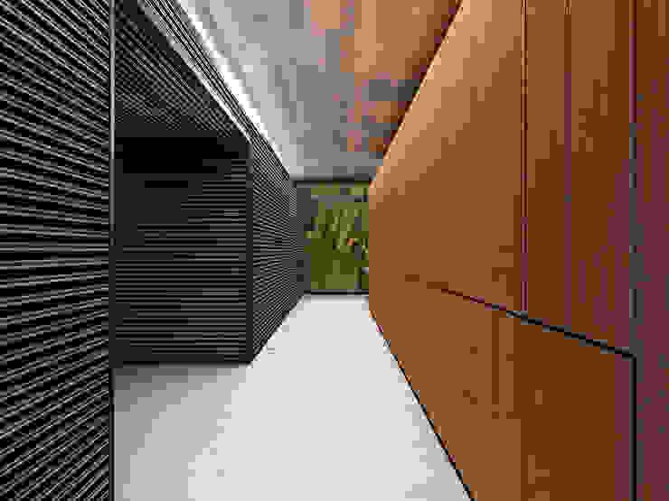 Casa Estadía - RIMA Arquitectura Pasillos, vestíbulos y escaleras modernos de RIMA Arquitectura Moderno