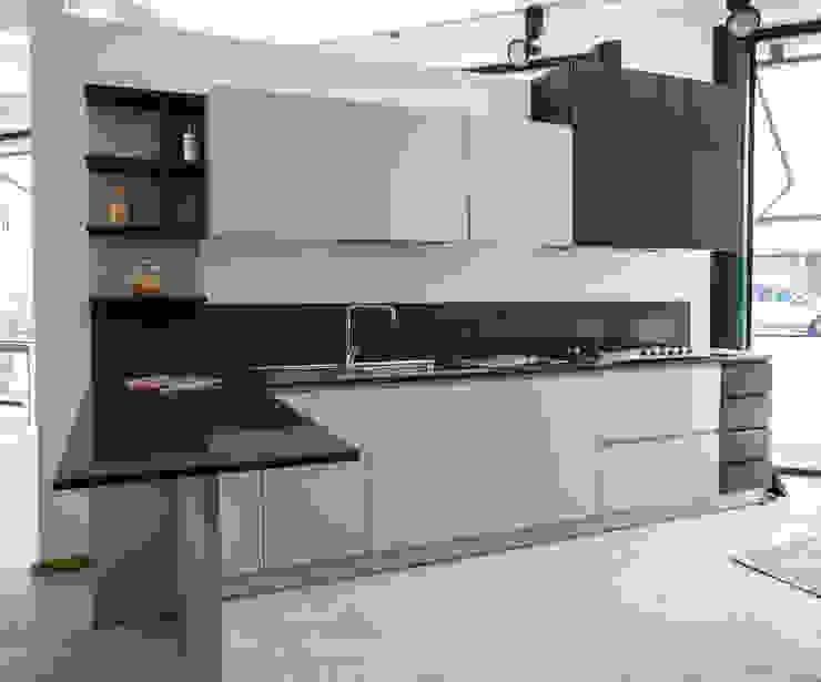 Vibo Cucine sas di Olivero Bruno e c. Кухня MDF Сірий