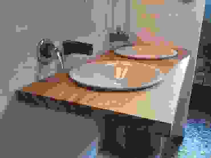 Klasyczna łazienka od Natureflow® Klasyczny Drewno O efekcie drewna