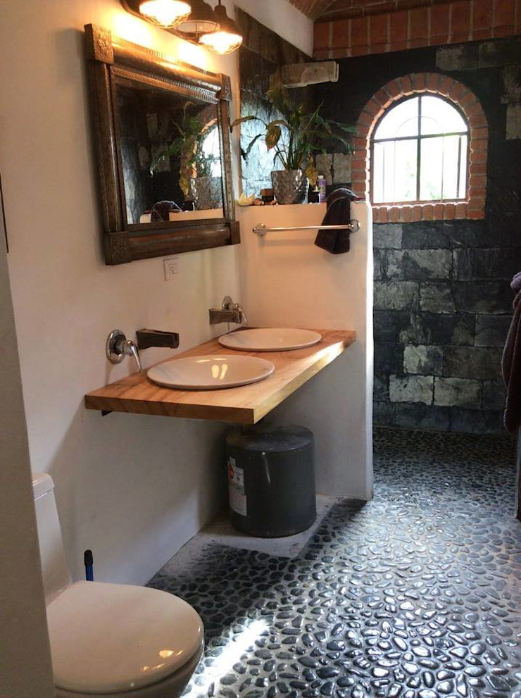 Baños de estilo clásico de Natureflow® Clásico Madera Acabado en madera