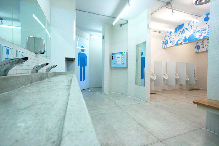 Saniter - RIMA Arquitectura Baños modernos de RIMA Arquitectura Moderno