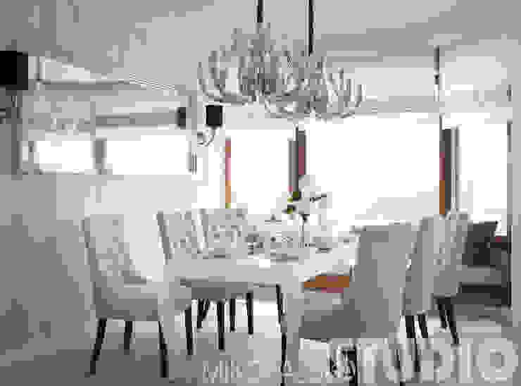 new york style interior od MIKOŁAJSKAstudio