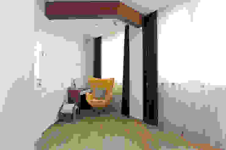 Квартира в ЖК <q>Дирижабль</q> Спальня в стиле минимализм от AFTER SPACE Минимализм
