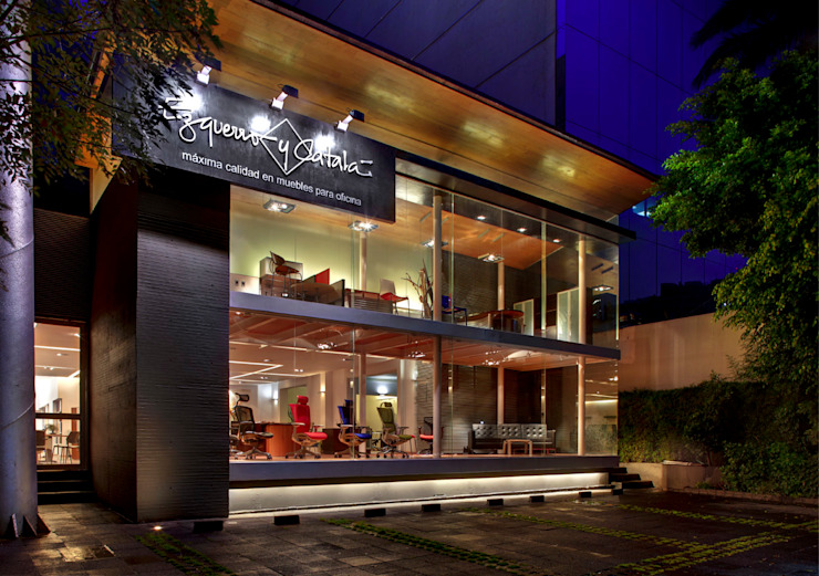 Modern style study/office by RIMA Arquitectura Modern
