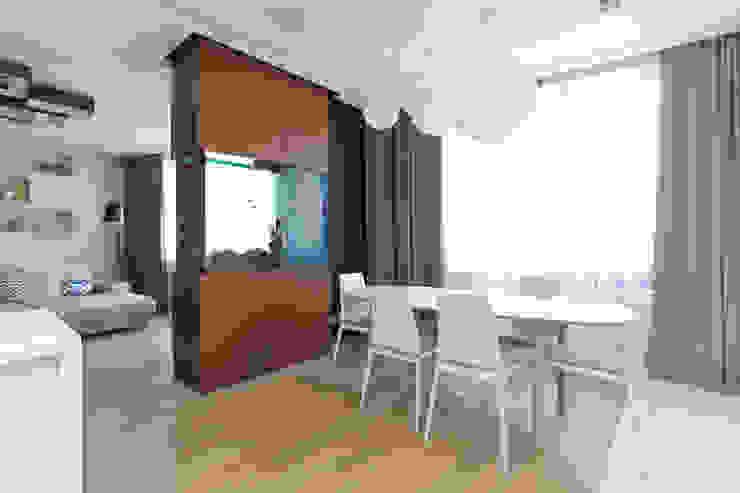 Квартира в ЖК <q>Дирижабль</q> Столовая комната в стиле минимализм от AFTER SPACE Минимализм