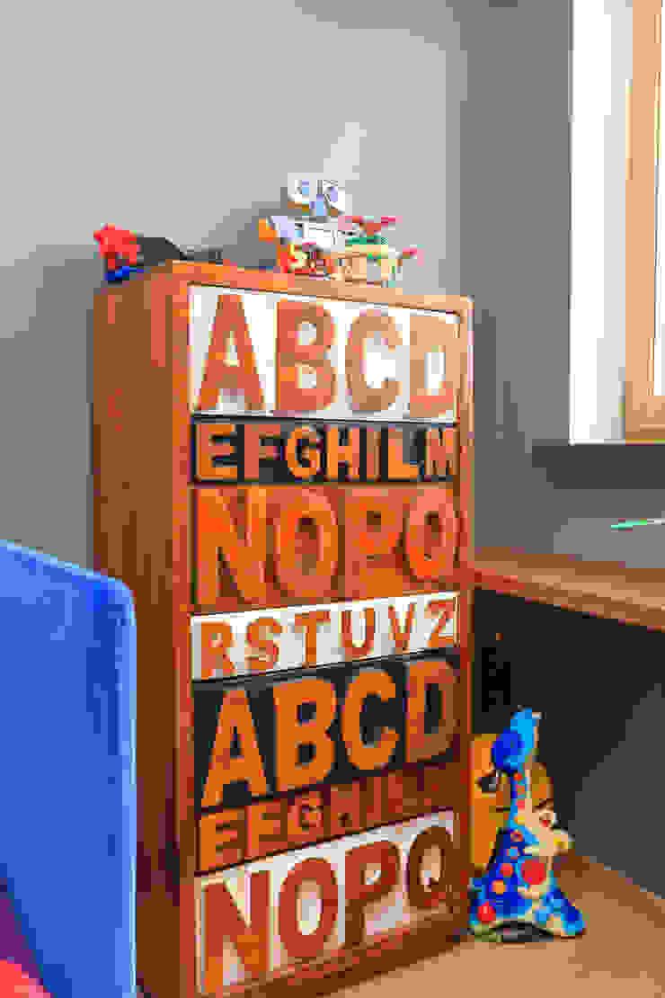 Квартира в ЖК <q>Дирижабль</q> Детская комнатa в стиле минимализм от AFTER SPACE Минимализм