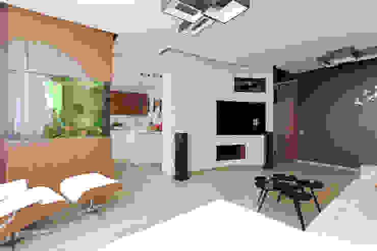 Квартира в ЖК <q>Дирижабль</q> Гостиная в стиле минимализм от AFTER SPACE Минимализм