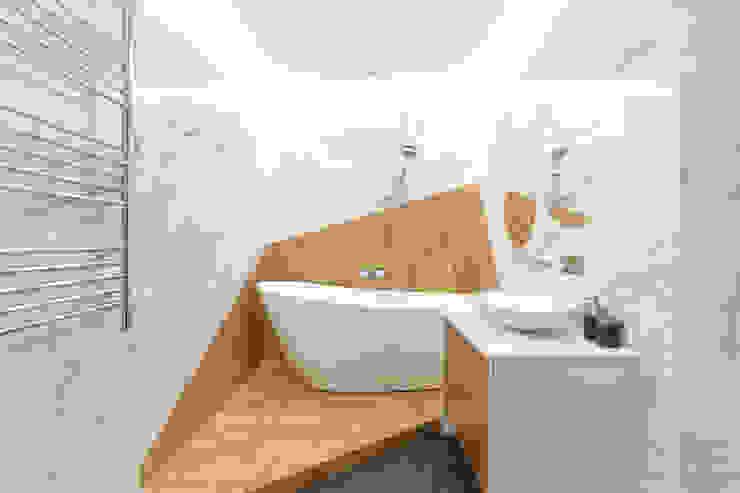 Квартира в ЖК <q>Дирижабль</q> Ванная комната в стиле минимализм от AFTER SPACE Минимализм