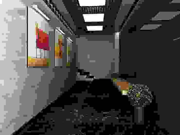 Proje Tasarım ve Kontrolörlük Modern Koridor, Hol & Merdivenler CANSEL BOZKURT interior architect Modern Mermer
