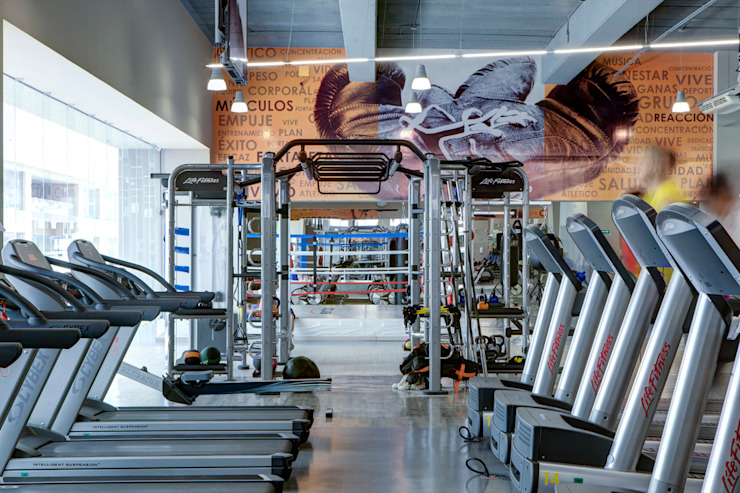Sportium Santa Fe - RIMA Arquitectura Gimnasios domésticos modernos de RIMA Arquitectura Moderno