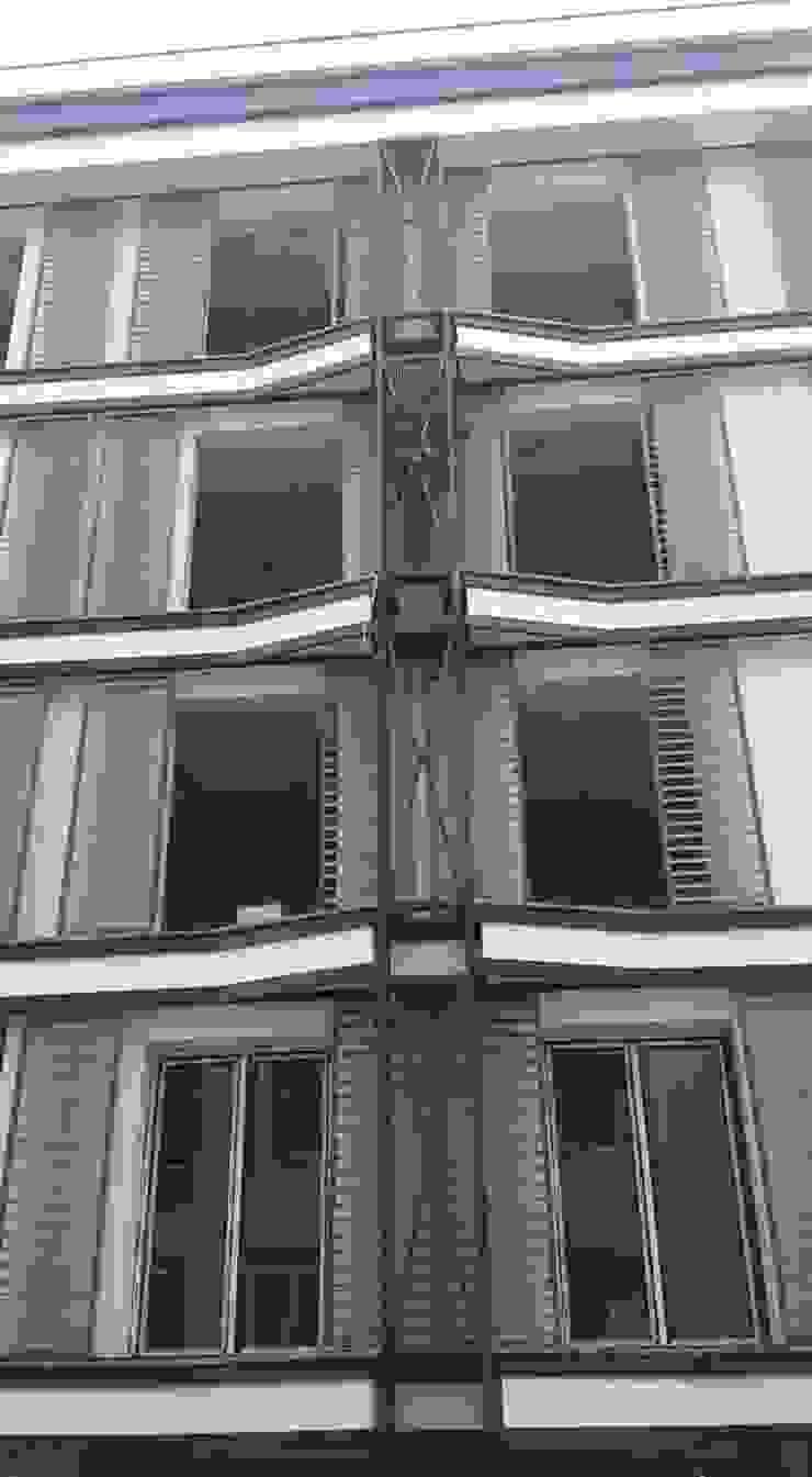 AVCILAR / İSTANBUL / KENTSEL DÖNÜŞÜM KAPSAMINDA 18 DAİRELİK KONUT PROJESİ Modern Evler CANSEL BOZKURT interior architect Modern Ahşap-Plastik Kompozit
