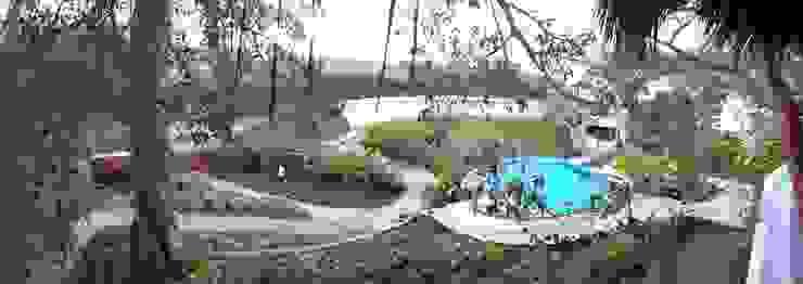 MARAICA Hoteles de estilo tropical de Estudio Tresuncuarto Tropical