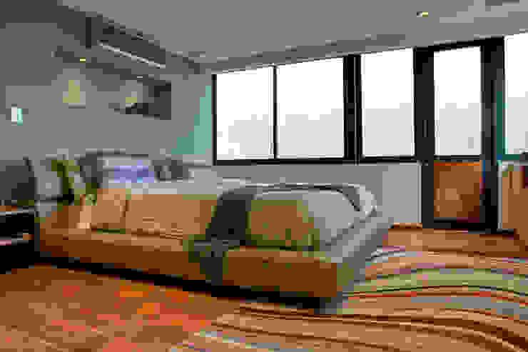 Pico de Verapaz - RIMA Arquitectura Dormitorios modernos de RIMA Arquitectura Moderno