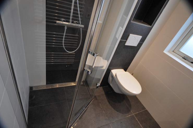 AGZ badkamers en sanitair BathroomBathtubs & showers Tiles Brown