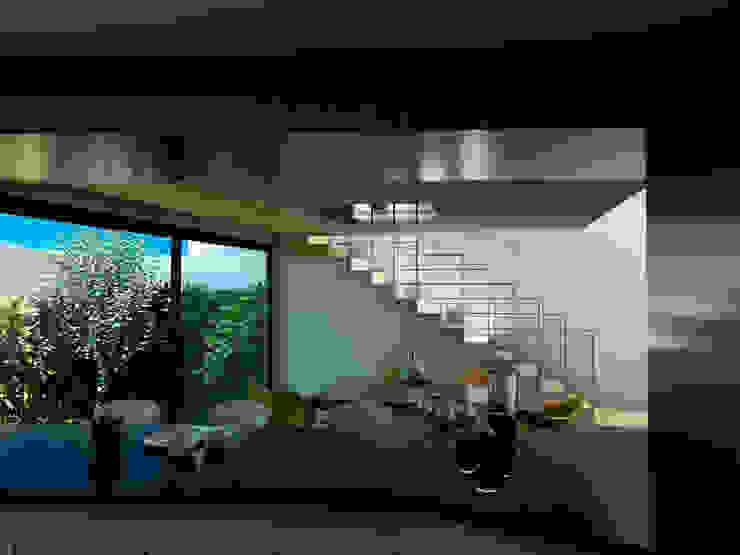 Case in stile minimalista di Flores Rojas Arquitectura Minimalista