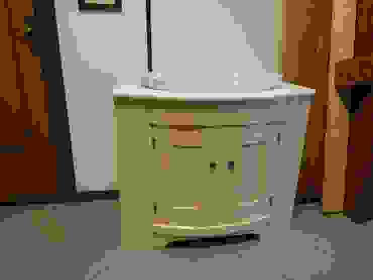 Mobili Pellerej di Pellerej Massimo 衛浴洗手台 木頭 Transparent
