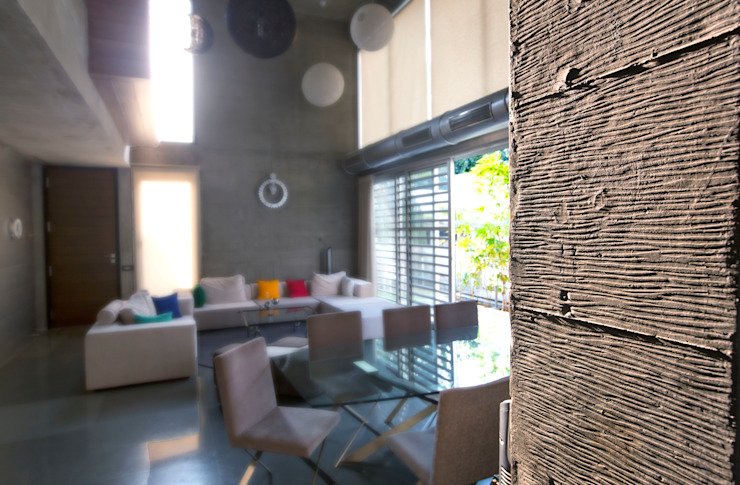 Butterfly House Modern walls & floors by ESSTEAM Modern Concrete