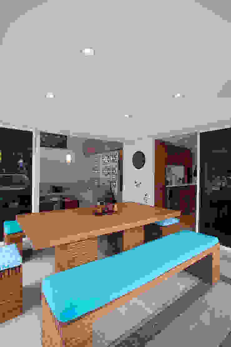 Vivienda 609 Balcones y terrazas de estilo moderno de Objetos DAC Moderno
