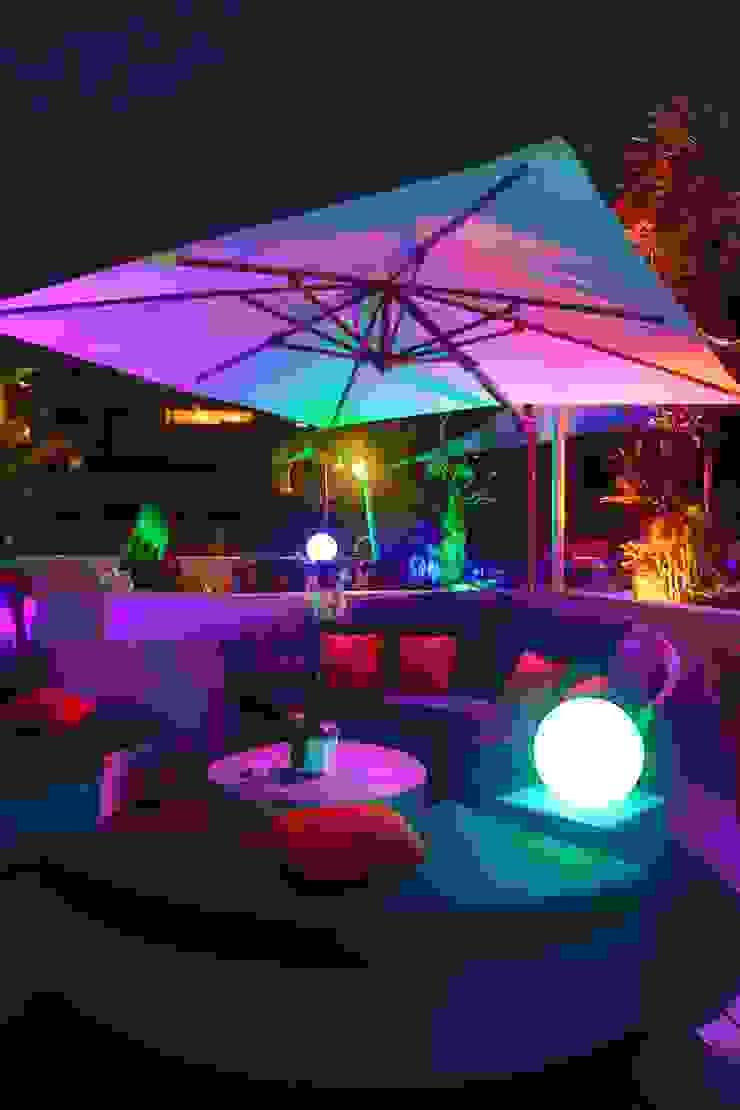 Terraza PH El Peñon Balcones y terrazas de estilo moderno de Objetos DAC Moderno