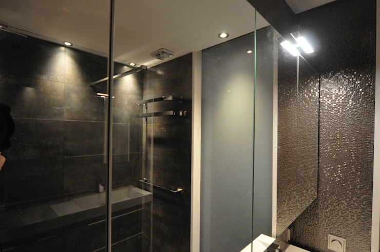 spiegelkast met led verlichting van AGZ badkamers en sanitair Koloniaal Glas