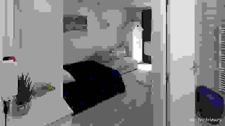 Projekty,  Sypialnia zaprojektowane przez MJ Intérieurs, Nowoczesny