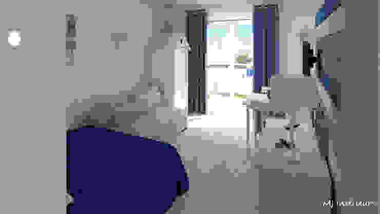 Salas / recibidores de estilo  por MJ Intérieurs, Moderno