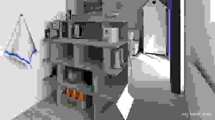 Cucina moderna di MJ Intérieurs Moderno