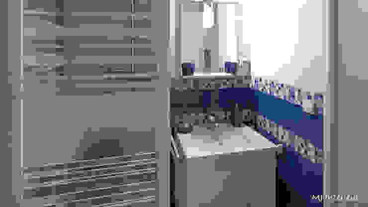 Baños de estilo  por MJ Intérieurs, Moderno