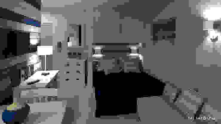 Camera da letto moderna di MJ Intérieurs Moderno
