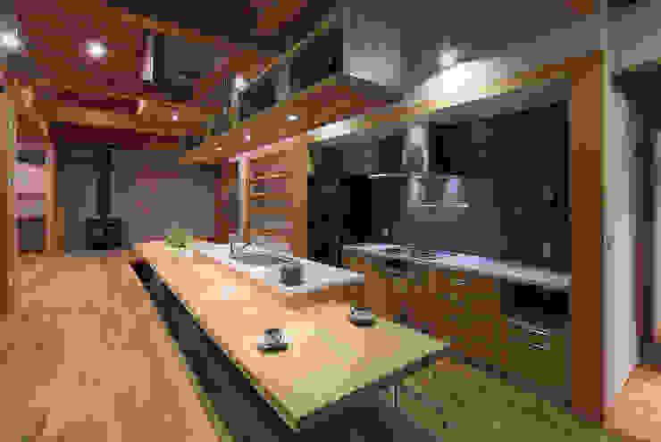 那須高久の家: ATELIER Nが手掛けたキッチンです。,オリジナル