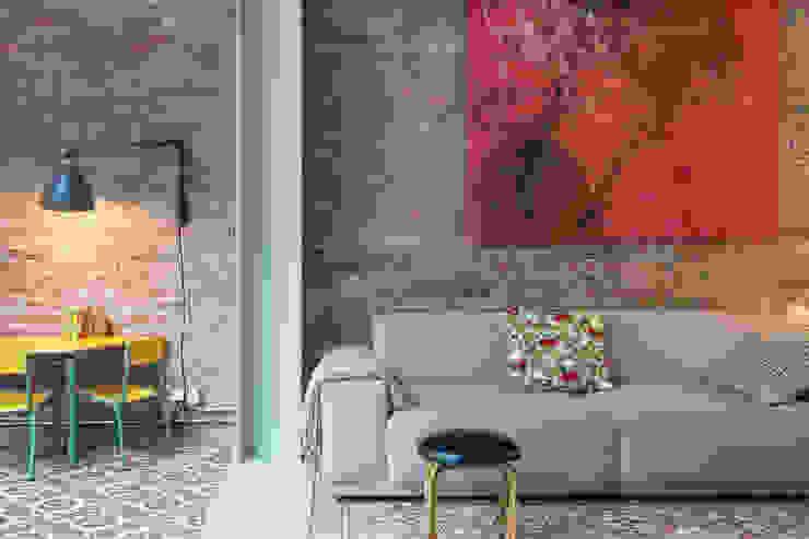 Vivienda bajos Madrazo Salones de estilo moderno de MIRIAM CASTELLS STUDIO Moderno