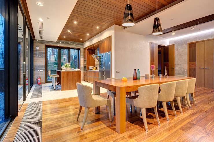 Dining room by Дмитрий Кругляк, Modern