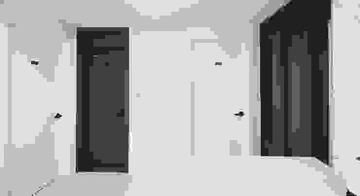 22평 복도식 모던 홈스타일링: homelatte의  거실,모던