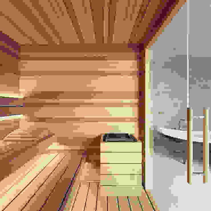 de estilo  por homify, Moderno Madera Acabado en madera