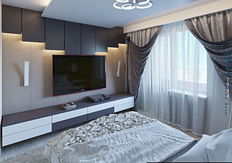 hq-design Modern style bedroom