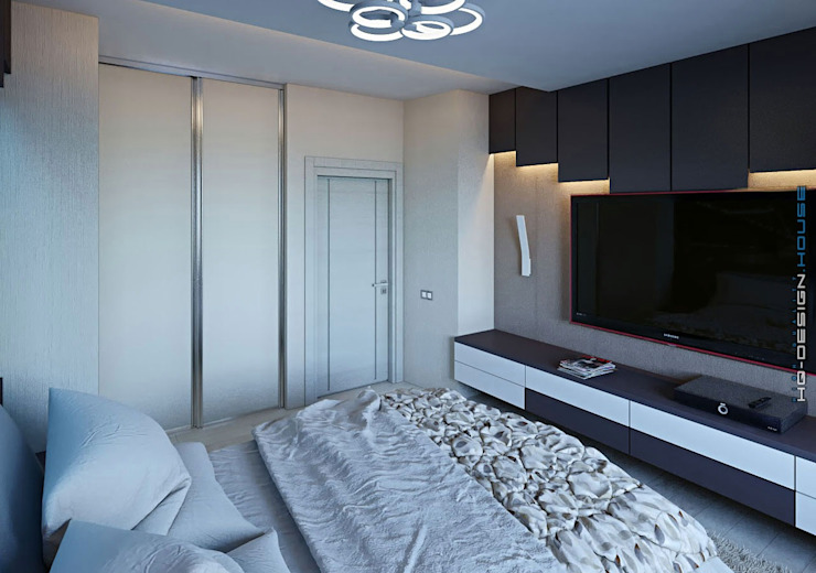 Modern style bedroom by hq-design Modern