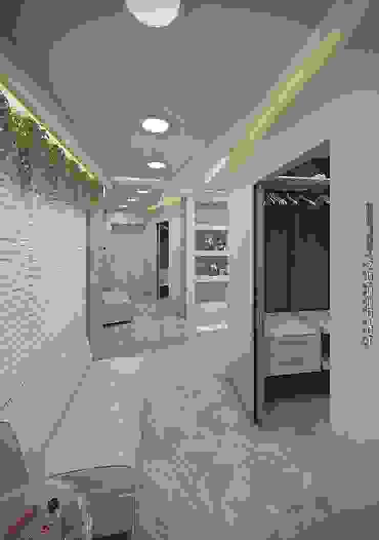Koridor & Tangga Modern Oleh hq-design Modern