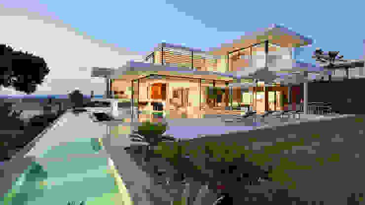 Modern Villa Vale do Lobo:   por Pure Allure Interior,Moderno